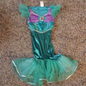 Disney little mermaid dress up dress